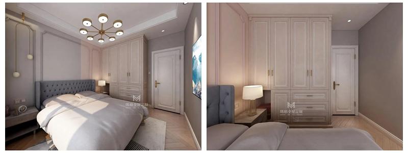 【720°全景】看惊艳的140㎡清新欧美设计,衣柜、榻榻米、飘窗都自成风景!(图13)